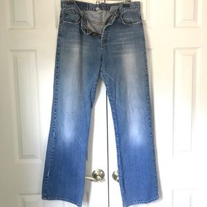 LUCKY Brand Button-Fly Boot-cut Jeans 14/32